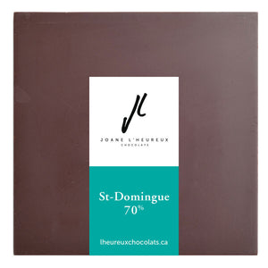 Tablette de chocolat Saint-Domingue 70%