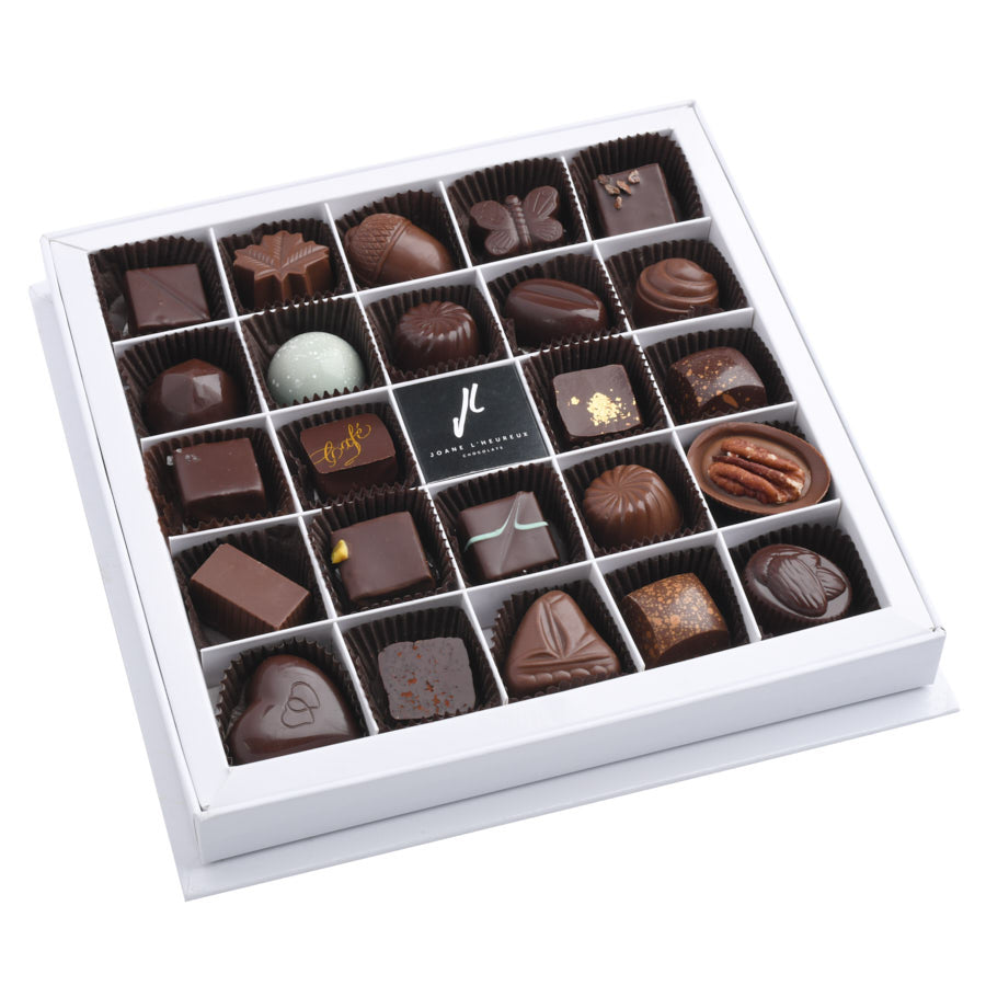 Coffret de 24 chocolats assortis