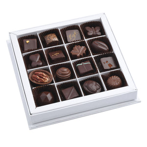 Coffret de 16 chocolats assortis
