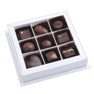 Coffret de 9 chocolats assortis