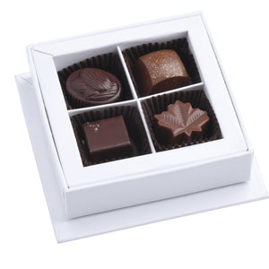 Coffret de 4 chocolats assortis