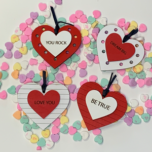 Customized Wooden Heart - Betsy Jane Studios