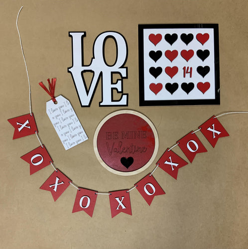 Valentine's Day Decor Bundle - Betsy Jane Studios