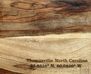 Thomasville Coordinates Cutting Board - Betsy Jane Studios