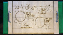 Load image into Gallery viewer, Personalized Santa Tray - Betsy Jane Studios