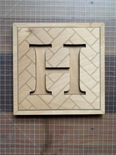 Load image into Gallery viewer, Herringbone Alphabet Craft Kit - Betsy Jane Studios