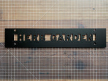 Load image into Gallery viewer, Garden Sign | Veggie Garden  | Herb Garden - Betsy Jane Studios
