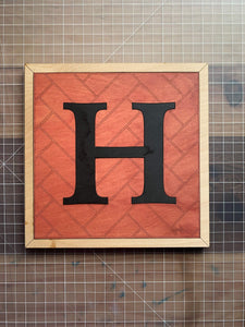 Herringbone Alphabet Craft Kit - Betsy Jane Studios