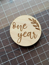 Load image into Gallery viewer, Monthly Milestone Wooden Rounds - Betsy Jane Studios