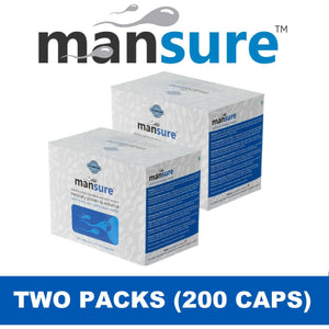 ManSure 2 Box Combo - Ayurvedic Male Reproductive Health Supplement
