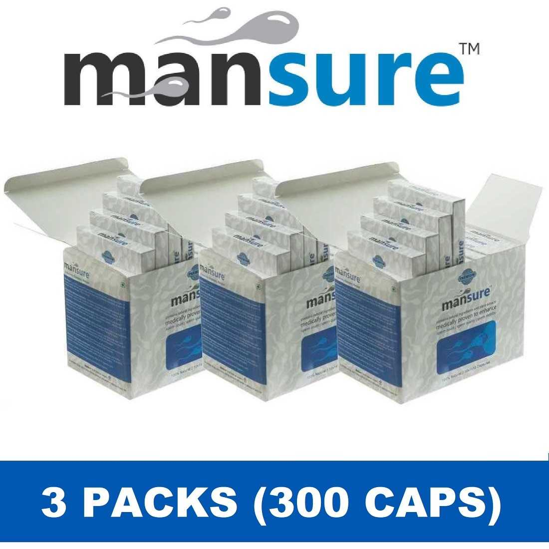 ManSure (3 Boxes) - Recommended Course for Reproductive Health in Men ManSure