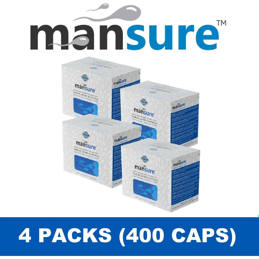 ManSure helps overcome male infertility naturally using potent herbs like Konch Beej, Gokhru, Safed Musli & more.