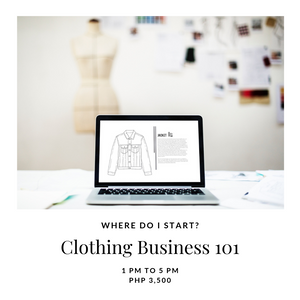 Open image in slideshow, Workshop: How to Start a Clothing Business