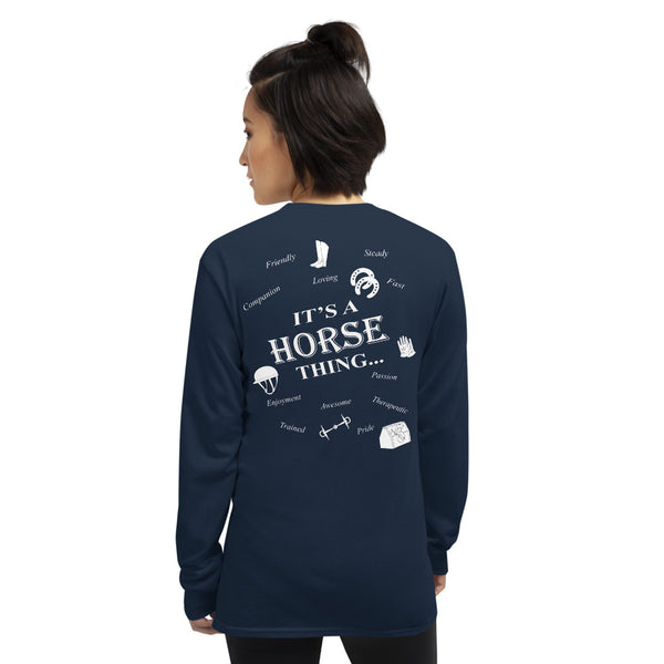 It's Horse Things  Long Sleeve Shirt