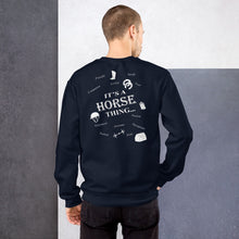 Load image into Gallery viewer, It's Horse Things Unisex Sweatshirt