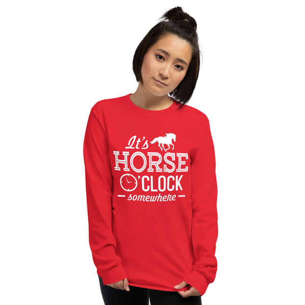 Horse O'clock Long Sleeve Shirt