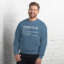 Load image into Gallery viewer, Horse Dad Unisex Sweatshirt
