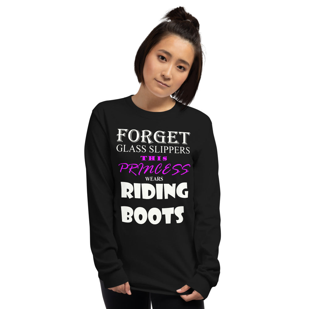 This princess wears BOOTS Long Sleeve Shirt