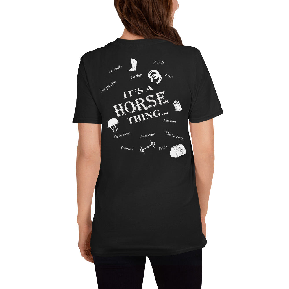 It's Horse Things Unisex T-Shirt