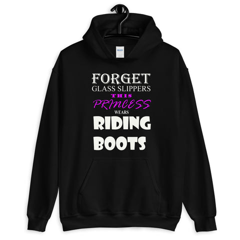 This princess wears BOOTS Unisex Hoodie