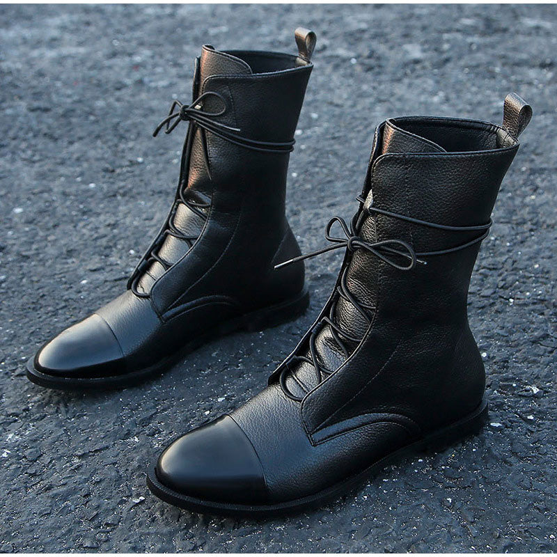Vintage Mid Calf Boots