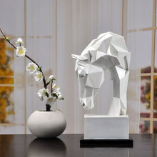 Load image into Gallery viewer, Horse Head Ornaments Decoration Desk Decor Statuette
