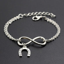 Load image into Gallery viewer, Horseshoe Charms Bracelet