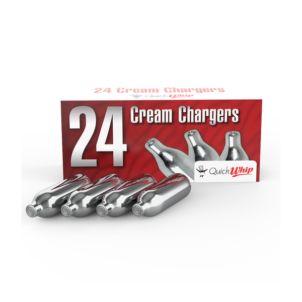 QuickWhip Cream Chargers - 24 Pack (Wholesale)