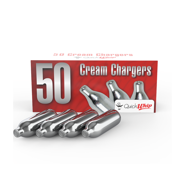 QuickWhip Cream Chargers - 50 Pack (Wholesale)