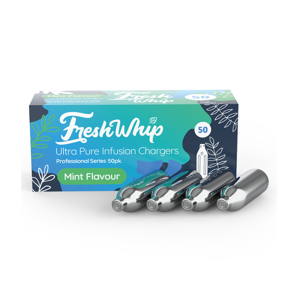 FreshWhip Mint Cream Chargers - 50 Pack (Wholesale)
