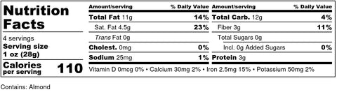 Chocolate Covered Almonds (7g Allulose, 2g NC)