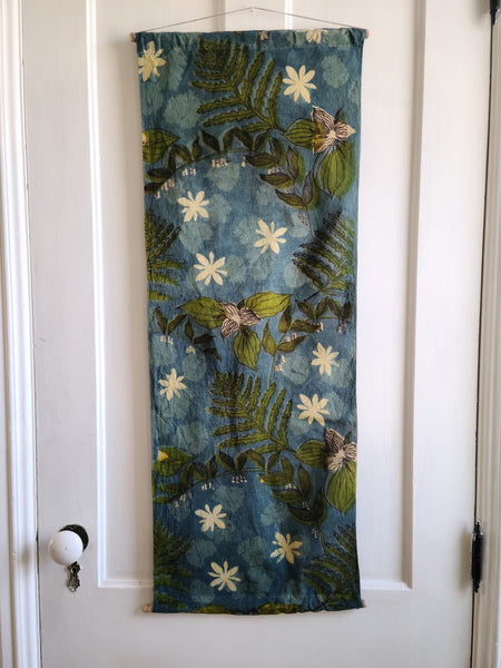 Spring Ephemerals Wall Hanging