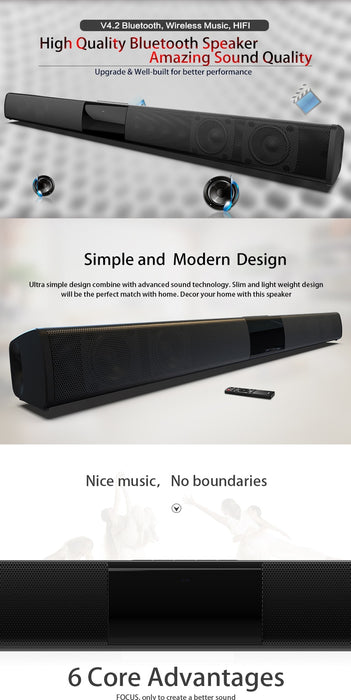 20W TV Sound Bar