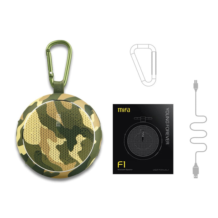 Outdoor Portable Bluetooth Speaker with Strong Bass