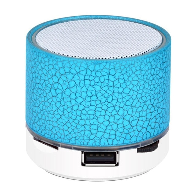 Mini Wireless Bluetooth LED Speaker