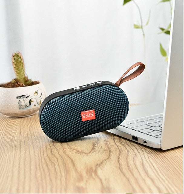 Mini Bluetooth Speaker with 3D Stereo Sound System