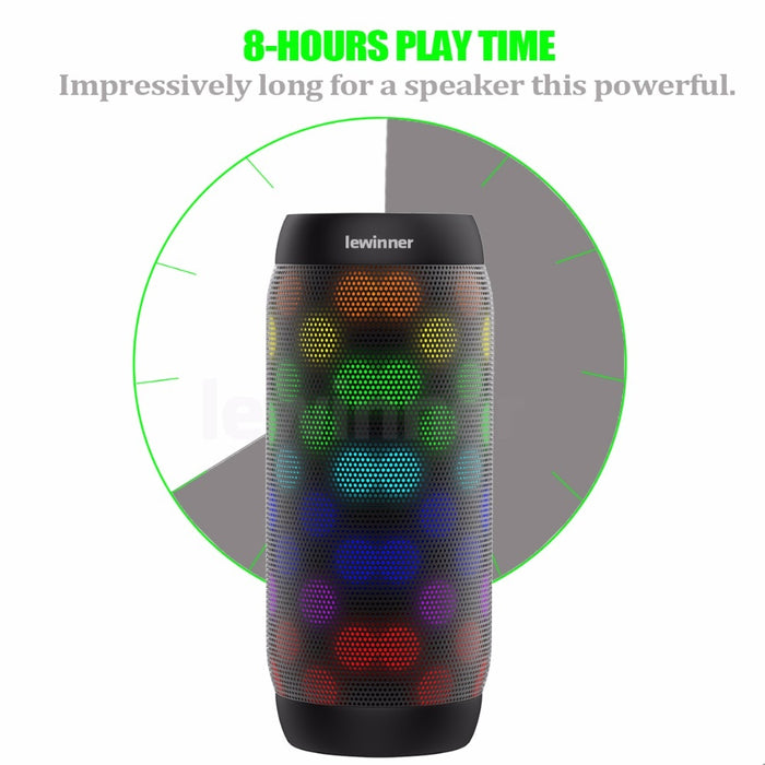 Colorful Waterproof Wireless Bluetooth Speaker