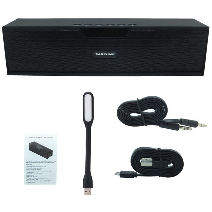 10W HIFI Wireless Bluetooth Soundbar with FM Radio for Computer