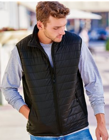 Riding On Insulin Packable Puffer Vest