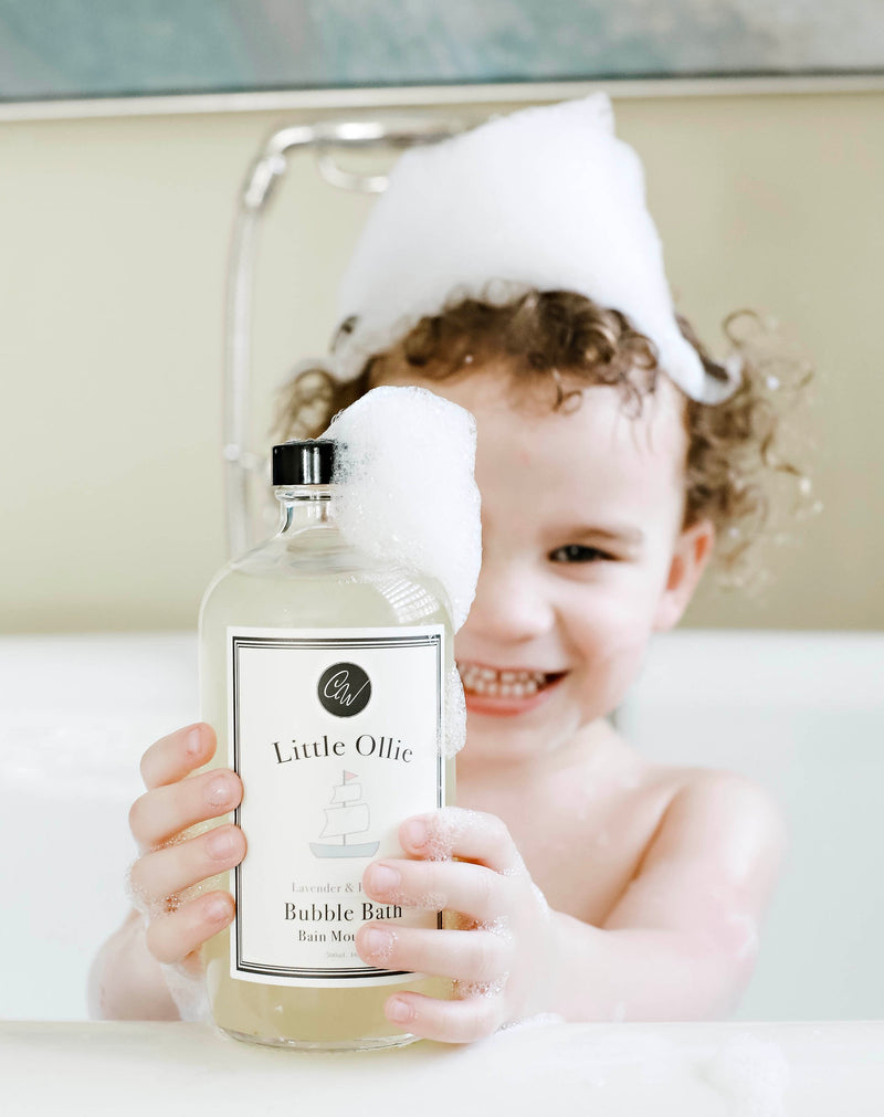 LITTLE OLLIE BUBBLE BATH 16oz/500mL