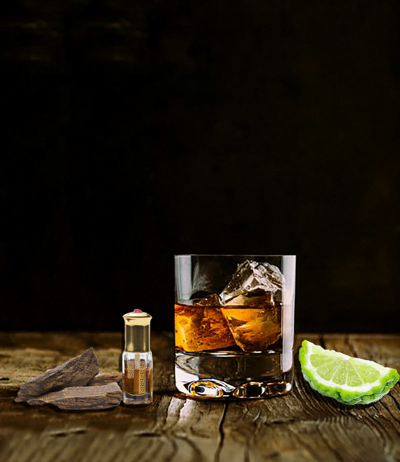 WHISKEY, OUD & BERGAMOT 8oz Candle
