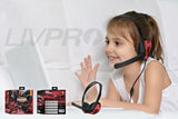LIVPRO - GM-006 Gaming Headset Headphones