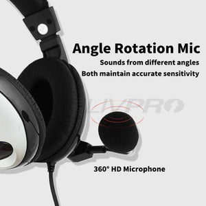 rotatable mic headphone