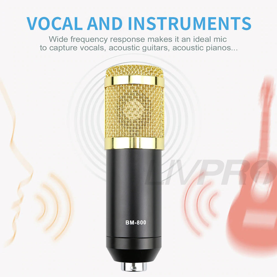 broadcast condenser microphone