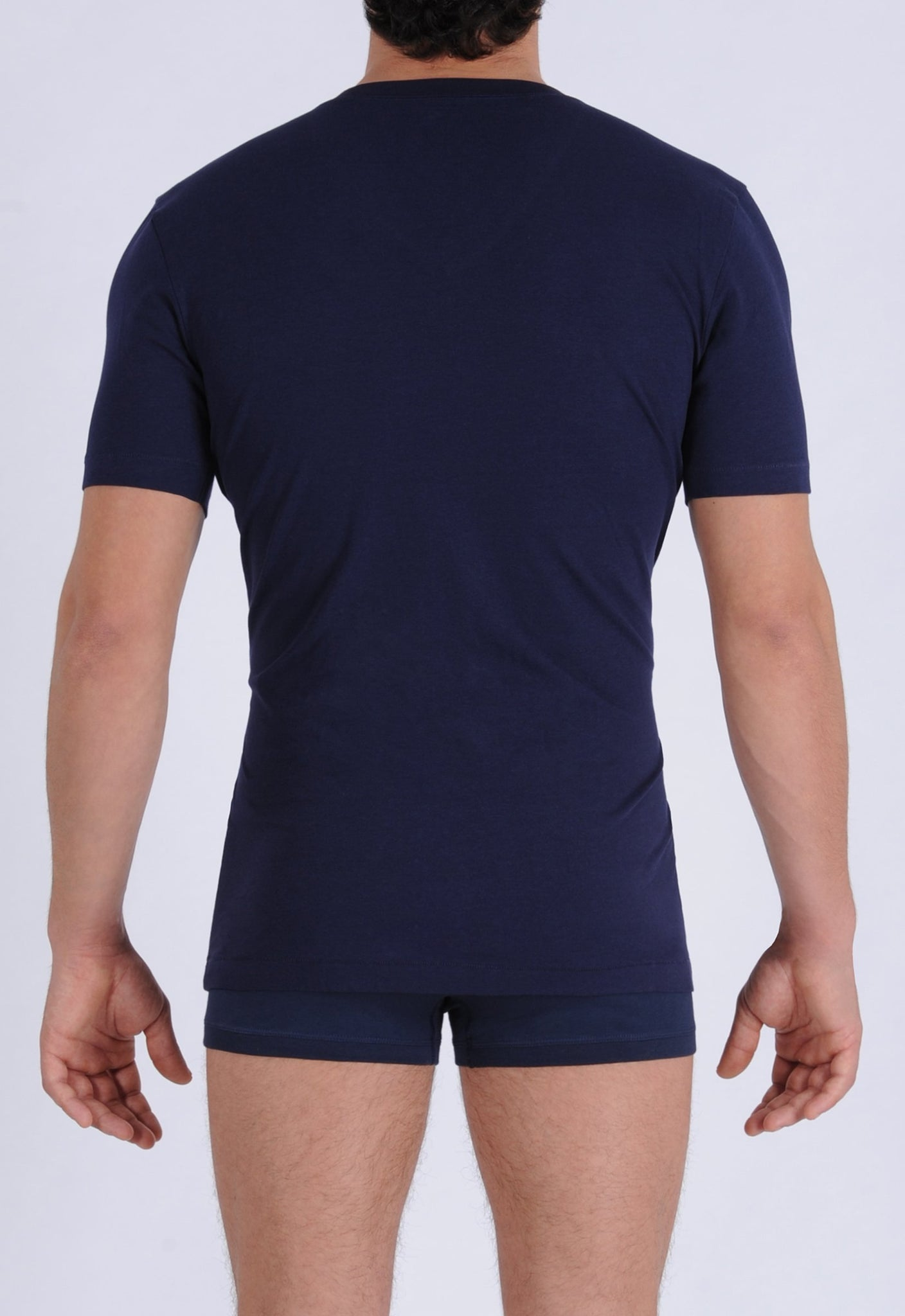 Ginch Gonch Signature Series - Crew Neck T-Shirt Navy Back