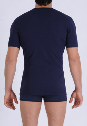 Ginch Gonch Signature Series - V-Neck T - Navy back