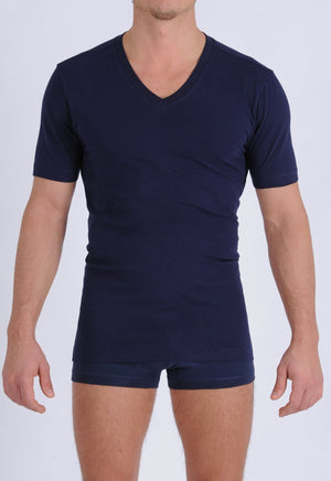 Ginch Gonch Signature Series - V-Neck T - Navy front