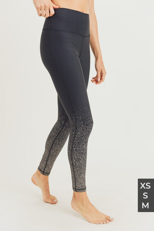 Metallic Raindrop Leggings XS-M