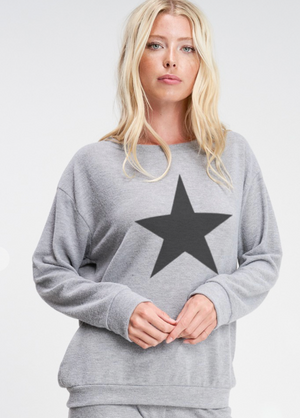 Super Soft Star Sweatshirt - LARGE ONLY