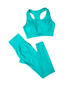 Go Get It Mint Green Seamless Set - Her Dope Shine